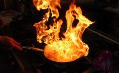'Fuochi e fiamme' nella nostra cucina